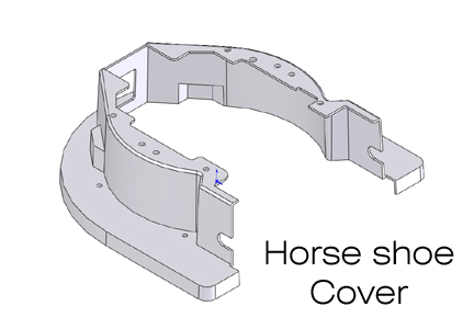 Horse Shoe Cover