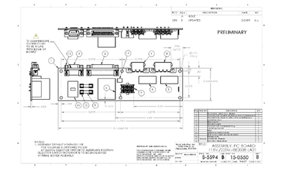PC Board Drawing